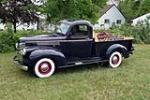 1941 CHEVROLET 1/2 TON PICK-UP - Side Profile - 157858