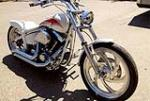 1998 HARLEY-DAVIDSON SOFTAIL CUSTOM MOTORCYCLE - Front 3/4 - 157864