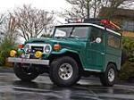 1975 TOYOTA LAND CRUISER FJ-40 2 DOOR SUV - Front 3/4 - 157971
