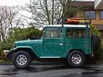 1975 TOYOTA LAND CRUISER FJ-40 2 DOOR SUV - Side Profile - 157971