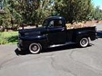 1950 FORD F-1 PICKUP - Side Profile - 158167