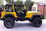 1993 JEEP WRANGLER CUSTOM SUV - Side Profile - 158180
