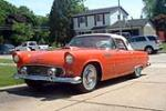 1956 FORD THUNDERBIRD CONVERTIBLE - Front 3/4 - 158269