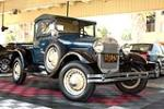 1929 FORD MODEL A ROADSTER PICKUP - Front 3/4 - 158323