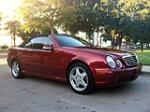 2000 MERCEDES-BENZ CLK430 CONVERTIBLE - Front 3/4 - 158388