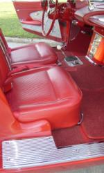 1961 CHEVROLET CORVETTE CONVERTIBLE - Interior - 15839