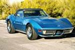 1971 CHEVROLET CORVETTE CONVERTIBLE 454 - Front 3/4 - 158401