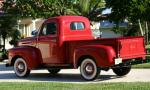 1950 FORD F-1 PICKUP - Side Profile - 16060