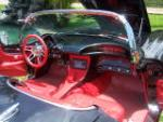 1961 CHEVROLET CORVETTE CUSTOM CONVERTIBLE - Interior - 160972