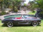1961 CHEVROLET CORVETTE CUSTOM CONVERTIBLE - Side Profile - 160972