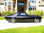 1967 FORD MUSTANG CUSTOM FASTBACK - Side Profile - 160988