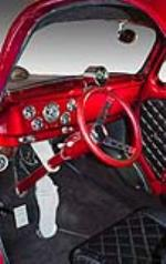 1941 WILLYS AMERICAR CUSTOM 2 DOOR COUPE - Interior - 160989