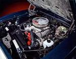 1968 CHEVROLET CAMARO SS CONVERTIBLE - Engine - 160991