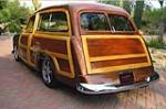 1950 FORD CUSTOM DELUXE CUSTOM WOODY WAGON - Rear 3/4 - 161006