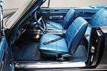 1968 DODGE HEMI CORONET R/T CONVERTIBLE - Interior - 161044