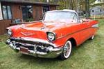 1957 CHEVROLET BEL AIR CONVERTIBLE - Front 3/4 - 161092