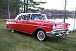 1957 CHEVROLET BEL AIR CONVERTIBLE - Side Profile - 161092