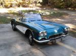 1958 CHEVROLET CORVETTE CONVERTIBLE - Front 3/4 - 161161