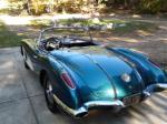 1958 CHEVROLET CORVETTE CONVERTIBLE - Rear 3/4 - 161161