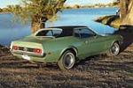1971 FORD MUSTANG 2 DOOR COUPE - Rear 3/4 - 161193
