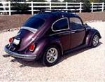 1969 VOLKSWAGEN BEETLE CUSTOM 2 DOOR - Rear 3/4 - 161197