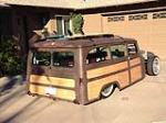 1961 WILLYS CUSTOM WOODY WAGON - Rear 3/4 - 161360