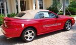 1994 FORD MUSTANG COBRA INDY PACE CAR - Rear 3/4 - 16137