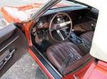 1968 CHEVROLET CORVETTE CONVERTIBLE - Interior - 161390