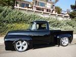 1956 FORD F-100 CUSTOM PICKUP - Side Profile - 161492