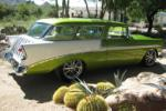 1956 CHEVROLET NOMAD CUSTOM WAGON - Side Profile - 161534