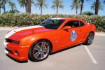 2010 CHEVROLET CAMARO PACE CAR COUPE - Front 3/4 - 161574