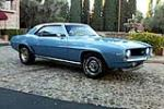 1969 CHEVROLET CAMARO 2 DOOR COUPE - Front 3/4 - 161584