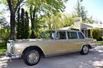1972 MERCEDES-BENZ 600 4 DOOR SEDAN - Side Profile - 161609