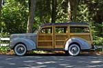1940 FORD SUPER DELUXE WOODY WAGON - Side Profile - 161650