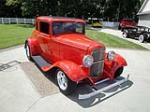 1932 FORD 5 WINDOW CUSTOM COUPE - Front 3/4 - 161670