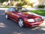 2000 MERCEDES-BENZ SL500 CONVERTIBLE - Front 3/4 - 161759
