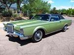 1969 LINCOLN CONTINENTAL MARK III 2 DOOR HARDTOP - Front 3/4 - 161809