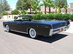 1966 LINCOLN CONTINENTAL 4 DOOR CONVERTIBLE - Rear 3/4 - 161824