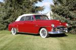1951 PLYMOUTH CRANBROOK CONVERTIBLE - Front 3/4 - 161849