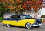 1956 FORD SUNLINER CONVERTIBLE - Front 3/4 - 161882