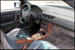 1995 MERCEDES-BENZ SL600 CONVERTIBLE - Interior - 162365