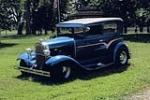1930 FORD CUSTOM 2 DOOR SEDAN - Front 3/4 - 162400
