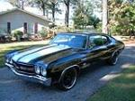 1970 CHEVROLET CHEVELLE MALIBU CUSTOM 2 DOOR COUPE - Front 3/4 - 162442
