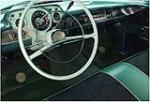 1957 CHEVROLET BEL AIR 2 DOOR HARDTOP - Interior - 162880