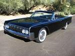 1964 LINCOLN CONTINENTAL CONVERTIBLE - Front 3/4 - 162906