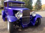 1929 FORD CUSTOM PICKUP - Front 3/4 - 163100