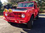 1974 FORD BRONCO CUSTOM SUV - Front 3/4 - 163116