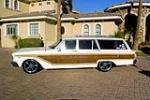 1963 FORD FAIRLANE CUSTOM STATION WAGON - Side Profile - 163404
