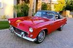 1955 FORD THUNDERBIRD CONVERTIBLE - Front 3/4 - 163406