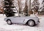 1962 CHEVROLET CORVETTE CONVERTIBLE - Side Profile - 170003